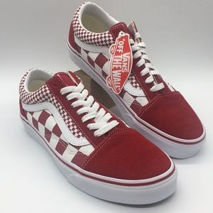 Vans Old Skool Mix Checkerboard Chili 🌶 Peppe